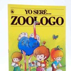 Tebeos: YO SERE… 2. ZOÓLOGO (JAN / CRISTINA BRUNET) BRUGUERA, 1986. OFRT. Lote 206244953