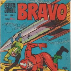 Tebeos: CÓMIC ` BRAVO ´ Nº 1 ED. BRUGUERA. Lote 206275985