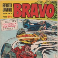 Tebeos: CÓMIC ` BRAVO ´ Nº 3 ED. BRUGUERA. Lote 206276297