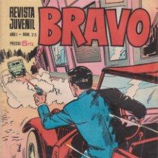 Tebeos: CÓMIC ` BRAVO ´ Nº 25 ED. BRUGUERA. Lote 206277770