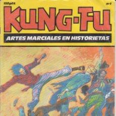 BDs: CÓMIC ` KUNG-FU ´ Nº 1 ED. IRU ...........AÑO 1987. Lote 206279368
