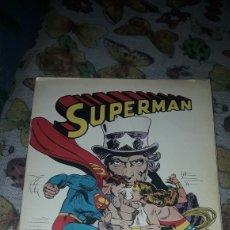 Tebeos: SUPERMAN CONTRA LA MUJER MARAVILLA. EDICION BRUGUERA DE 1980. Lote 206280813