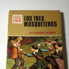 Tebeos: LOS TRES MOSQUETEROS EDITORIAL BRUGUERA. Lote 206286771