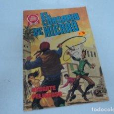 Tebeos: TEBEO ANTIGUO JOYAS LITERARIAS JUVENILES EL CORSARIO DE HIERRO RESCATE PELIGROSO NUMERO 58. Lote 206286913