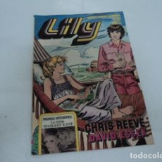 Tebeos: ANTIGUA REVISTA JUVENIL LILY NUMERO 934 POSTER DE CHRIS REEVE Y DE DAVID ESSEX EDITORIAL BRUGUERA. Lote 206287225