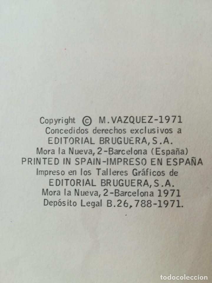 Tebeos: ANACLETO. ALEGRES HISTORIETAS PRESENTA. ANACLETO: EL MALVADO VÁQUEZ. BRUGUERA. BARCELONA 1971 - Foto 4 - 206310515
