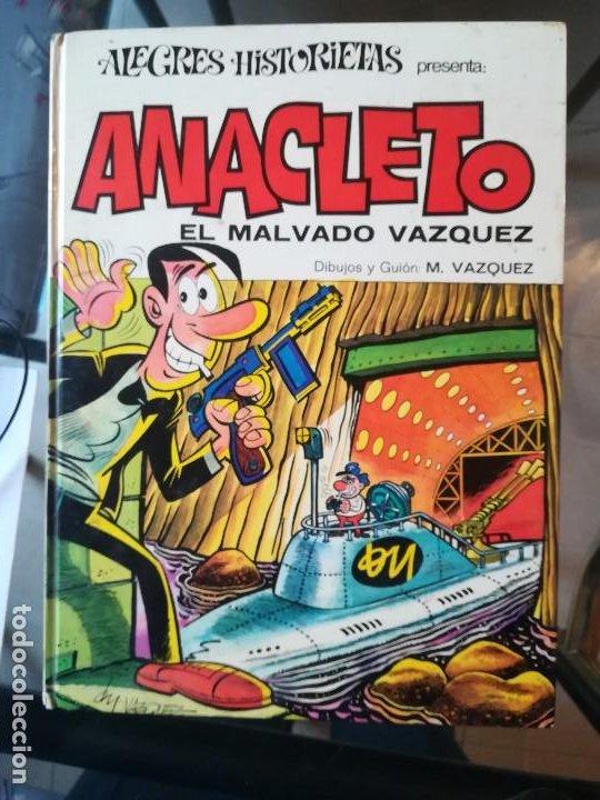 ANACLETO. ALEGRES HISTORIETAS PRESENTA. ANACLETO: EL MALVADO VÁQUEZ. BRUGUERA. BARCELONA 1971 (Tebeos y Comics - Bruguera - Otros)