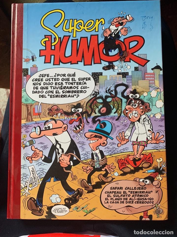 COMIC MORTADELO Y FILEMON SUPER HUMOR (Tebeos y Comics - Bruguera - Mortadelo)