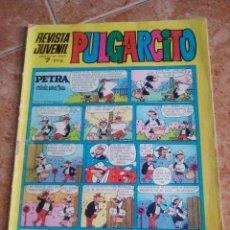 Tebeos: PULGARCITO.NUMERO 2162.BRUGUERA.CON EL SHERIFF KING. Lote 206380887