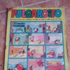 Tebeos: PULGARCITO.NUMERO 1888.BRUGUERA.CON EL SHERIFF KING. Lote 206389707