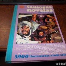 Tebeos: FAMOSAS NOVELAS BRUGUERA VOLUMEN XVII 1ª ED. OCTUBRE 1.979, COMIENZA A DESPEGARSE POR DETRÁS. Lote 206435616