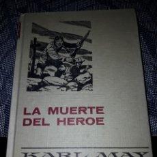 Tebeos: LA MUERTE DEL HÉROE. KARL MAY. SERIE KARL MAY 12. EDICION DE 1974.. Lote 206458875