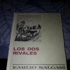Tebeos: LOS DOS RIVALES EMILIO SALGARI. SERIE EMILIO SALGARI 4. EDICION DE 1974.. Lote 206460410