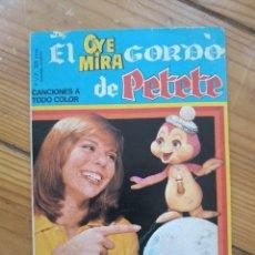 Tebeos: OYE MIRA Nº 5 - EL OYE MIRA GORDO DE PETETE - NO CONTIENE LOS CROMOS - D8. Lote 206478008