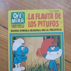 Tebeos: OYE MIRA Nº 2 - LA FLAUTA DE LOS PITUFOS - NO CONTIENE LOS CROMOS - D8. Lote 206480133