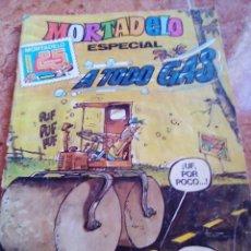 Tebeos: MORTADELO ESPECIAL A TODO GAS .NUMERO 167.BRUGUERA. Lote 206487501