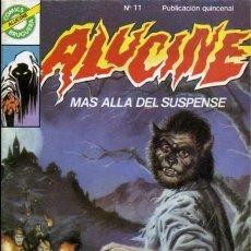 Tebeos: ALUCINE-COMICS BRUGUERA- Nº 11 -ÚLTIMO COLECCIÓN-TOMÁS MARCO-ROVIRA-1985-BUENO-MUY DIFÍCIL-LEAN-3455. Lote 206539801
