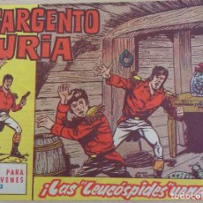 Tebeos: EL SARGENTO FURIA Nº 13. LAS LEUCÓPSIDES VENENOSAS. EDITA BRUGUERA 1962. Lote 206558337