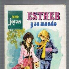 Tebeos: SUPER JOYAS ESTHER Y SU MUNDO N,1 EDITORIAL BRUGUERA S.A.AÑO 1978 SERIE AZUL. Lote 206600796