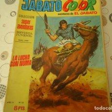Tebeos: JABATO COLOR PRIMERA EPOCA Nº 23, LA LUCHA CON NUMA. Lote 206754568
