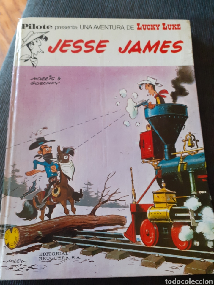 LUCKY LUKE. JESSE JAMES 1972 (Tebeos y Comics - Bruguera - Otros)