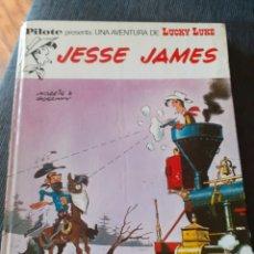 Tebeos: LUCKY LUKE. JESSE JAMES 1972. Lote 206812280
