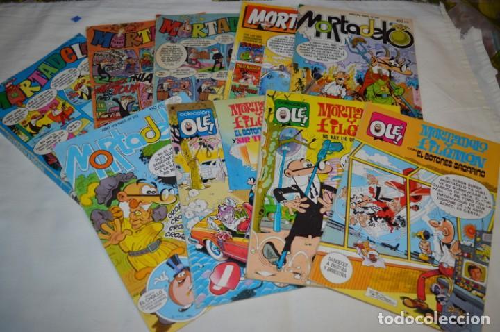 Tebeos: Lotazo MORTADELO y FILEMÓN - Diferentes épocas formatos - Lote Comics variado ¡Mira fotos/detalles! - Foto 2 - 206812398