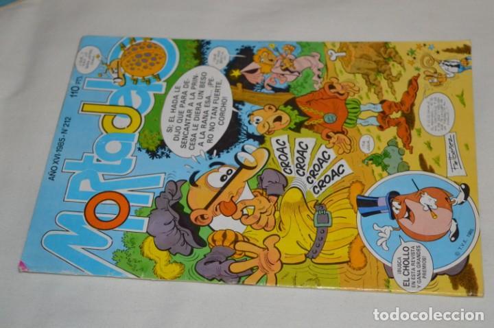 Tebeos: Lotazo MORTADELO y FILEMÓN - Diferentes épocas formatos - Lote Comics variado ¡Mira fotos/detalles! - Foto 19 - 206812398
