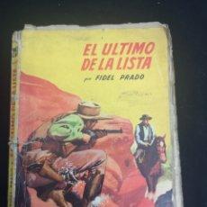 Tebeos: EL ÚLTIMO DE LA LISTA COLECCIÓN BISONTE. Lote 206818551