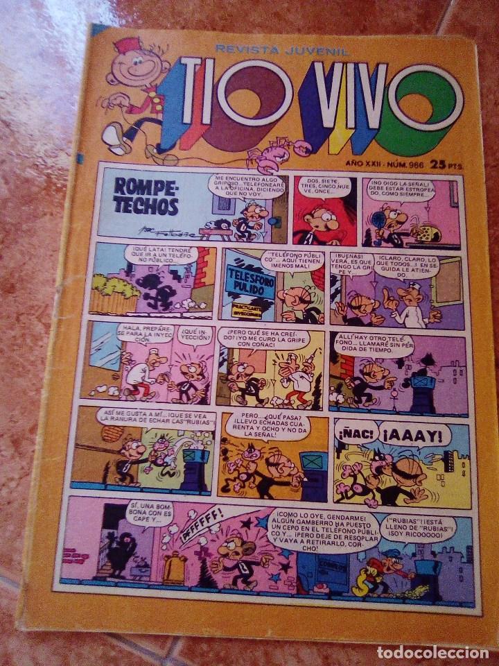 TIO VIVO.NUMERO 966.BRUGUERA (Tebeos y Comics - Bruguera - Tio Vivo)
