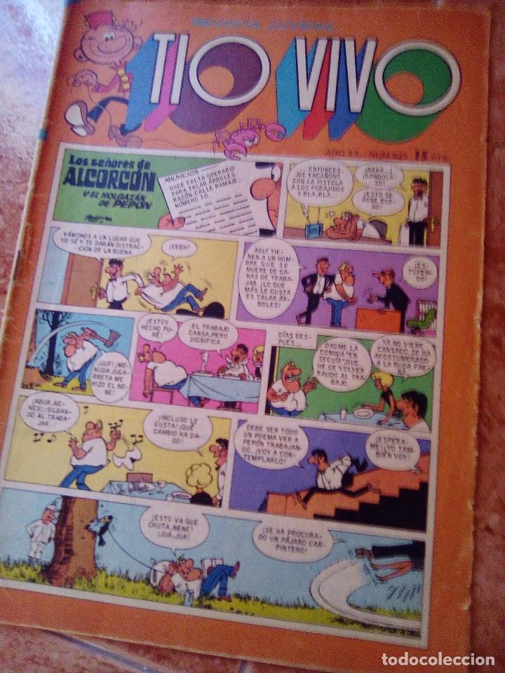TIO VIVO.NUMERO 827.BRUGUERA (Tebeos y Comics - Bruguera - Tio Vivo)