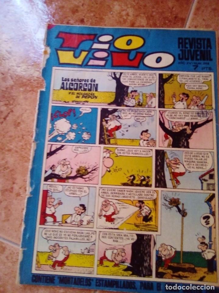 TIO VIVO.NUMERO 598.BRUGUERA (Tebeos y Comics - Bruguera - Tio Vivo)