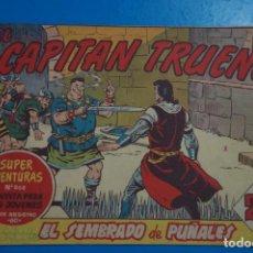 Tebeos: CÓMIC DE EL CAPITAN TRUENO EL SEMBRADO DE PUÑALES Nº 411 AÑO 1953 DE COLECCION DAN**** LOTE 17 D. Lote 206895613