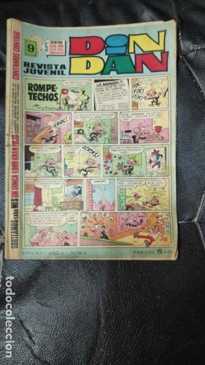 DIN DAN EPOCA II Nº 61 PRECIO DE 5 PESETAS (Tebeos y Comics - Bruguera - Din Dan)
