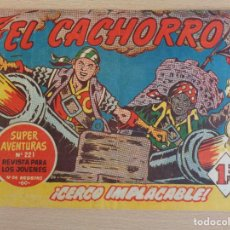 Tebeos: EL CACHORRO Nº 210. CERCO IMPLACABLE. EDITA BRUGUERA. BUEN ESTADO. Lote 207022917