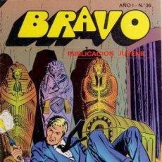 Tebeos: BRAVO- Nº 36 -INSPECTOR DAN- Nº 18 -AVENTURA EN ÁFRICA-1976-GRAN MARTÍNEZ HENARES-DIFÍCIL-LEAN- 3485. Lote 207028373
