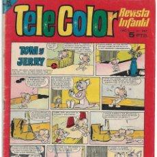 Tebeos: TELE COLOR Nº 247-- ORIGINAL BUEN ESTADO - LEER Y VER FOTOS. Lote 207033281