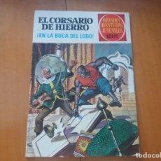 Tebeos: EN LA BOCA DEL LOBO!. EL CORSARIO DE HIERRO. BRUGUERA. N° 7. PRIMERA EDICIÓN. 1971. 15 PTS. N° 4.. Lote 207052402