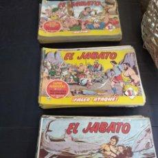 Tebeos: LOTAZO DE 171 NÚMEROS DEL JABATO ORIGINALES AÑO 1958. Lote 207061130