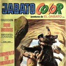 Tebeos: JABATO COLOR- I ÉPOCA- Nº 173 -1973- GRAN LUIS COLLADO- F. IBÁÑEZ- MUY DIFICIL-BUENO-LEAN-3488. Lote 207086905