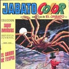 Tebeos: JABATO COLOR-I ÉPOCA-BRUGUERA- Nº 184 -EL CARRO DE TESPIS-1973-GRAN FÉLIX CARRIÓN-CORRECTO-LEA-3489. Lote 207118881