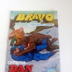 Tebeos: TEBEO BRAVO 1976 EDITORIAL BRUGUERA INSPECTOR DAN TERROR EN LOS ALPES Nº 80 40. Lote 207137521