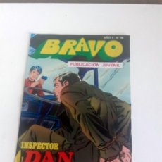 Tebeos: TEBEO BRAVO 1976 EDITORIAL BRUGUERA INSPECTOR DAN EL RAPTO DE STELLA Nº 74 37. Lote 207137736