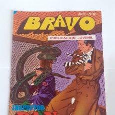 Tebeos: TEBEO BRAVO 1976 EDITORIAL BRUGUERA INSPECTOR DAN FIERAS AL ACECHO Nº 72 36. Lote 207138426