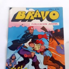 Tebeos: DESCRIPCION: TEBEO BRAVO 1976 EDITORIAL BRUGUERA EL CACHORRO LA FORTALEZA PIRATA Nº67 34. Lote 207139855