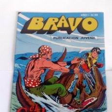 Tebeos: DESCRIPCION: TEBEO BRAVO 1976 EDITORIAL BRUGUERA EL CACHORRO EL RAPTO DE BIMBA Nº 43 22. Lote 207140373