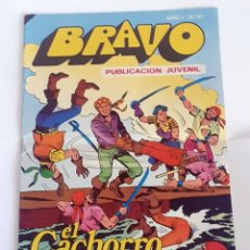 Tebeos: DESCRIPCION: TEBEO BRAVO 1976 EDITORIAL BRUGUERA EL CACHORRO ACOSO IMPLACABLE Nº 61 31. Lote 207140530
