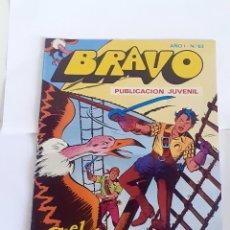 Tebeos: DESCRIPCION: TEBEO BRAVO 1976 EDITORIAL BRUGUERA EL CACHORRO EN LA BOCA DEL LOBO Nº 63 32. Lote 207140837