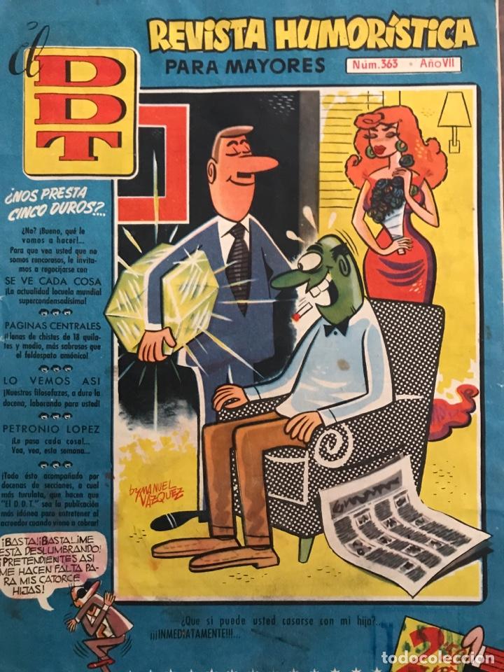 DDT (Tebeos y Comics - Bruguera - DDT)
