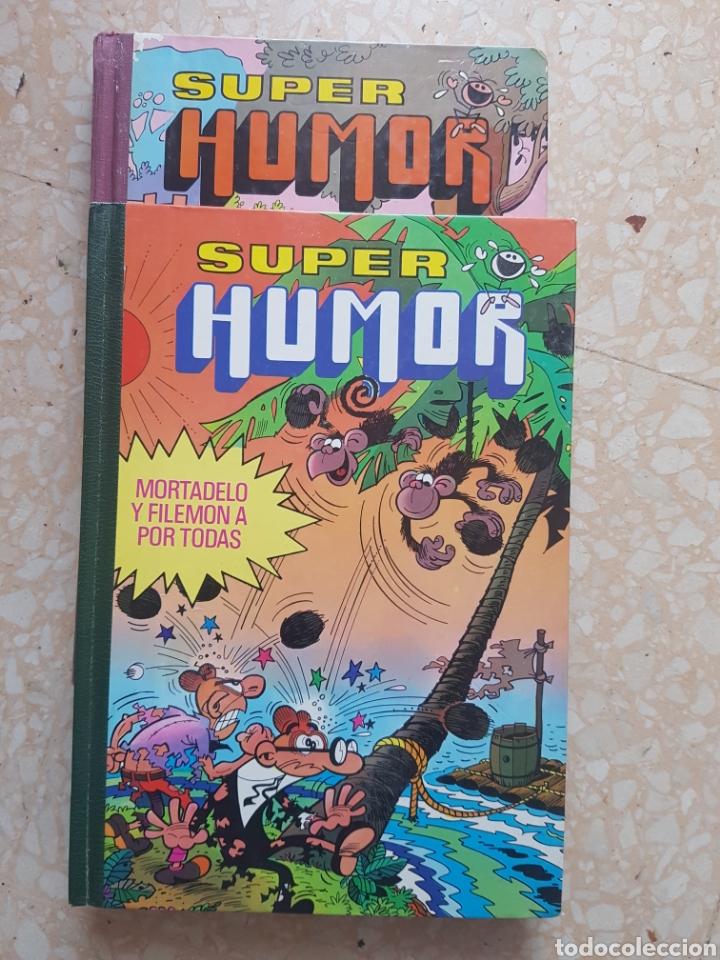 Tebeos: 2 Tomos de Super Humor volumen III y XI Editorial Bruguera - Foto 2 - 207163666